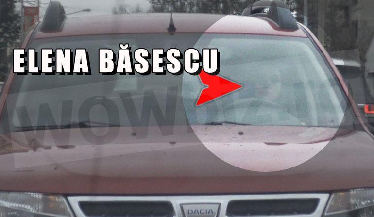 Elena Băsescu a ajuns să circule cu mașina lu' tăticu'! Merge cu Dusterul, dar are o geantă de firmă care valorează, probabil, cât autovehiculul VIDEO EXCLUSIV