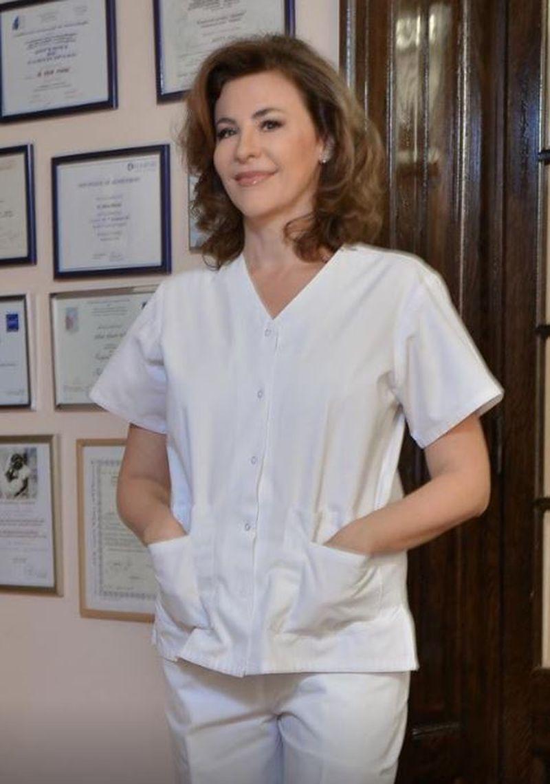 Dr. Adina Alberts face voluntariat la grădiniță, după epidemia de viroze care afectează copiii