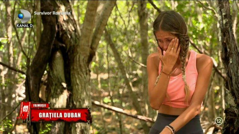 """Grațiela Duban de la Survivor a făcut mărturisiri dureroase despre moartea mamei ei! """"De când am pierdut-o pe ea, de când aveam 20 de ani..."""""""