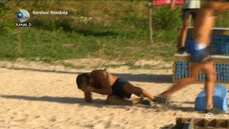 """Incident violent la Survivor! Ana Pal i-a dat un cap în gură lui Andrei! Războinicul a căzut secerat la pământ: """"I-a spart nasul"""""""