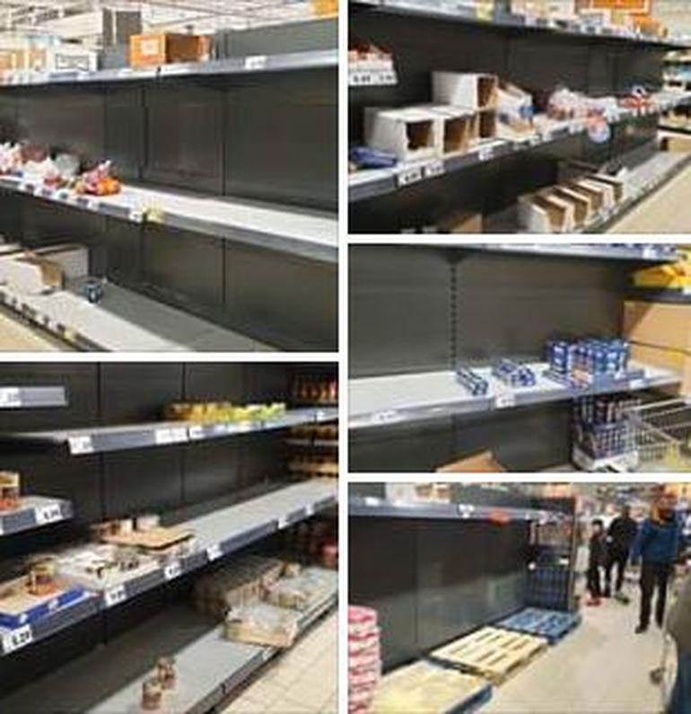 Coronavirus bagă spaima în români! Rafturile magazinelor sunt goale mai ceva ca de sărbători