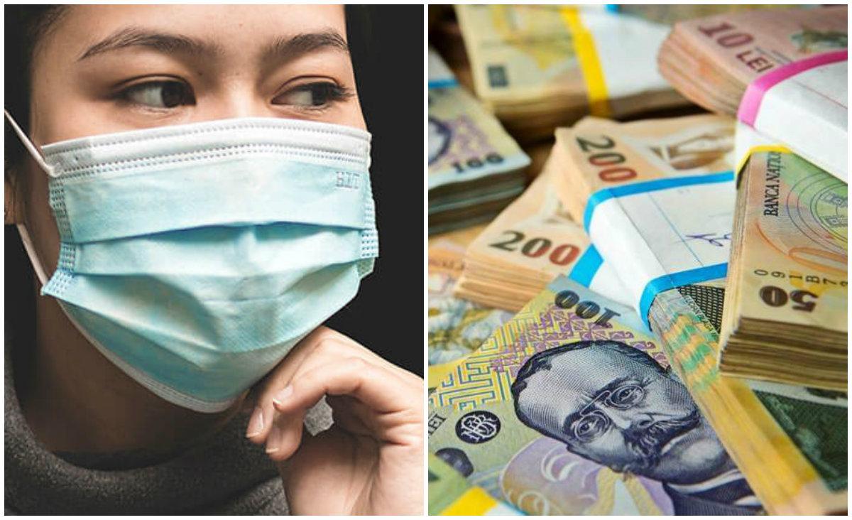 Coronavirus. Câți bani primești la îndemnizație dacă intri la carantină
