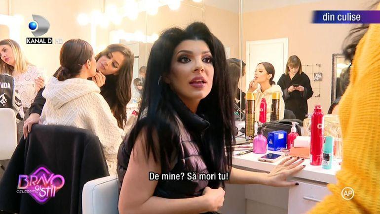 """Andreea Tonciu o atacă dur pe Calina, la """"Bravo, ai stil! Celebrities"""": """"Faci pe mironosița și ți-o spun în fața întregii țări"""""""