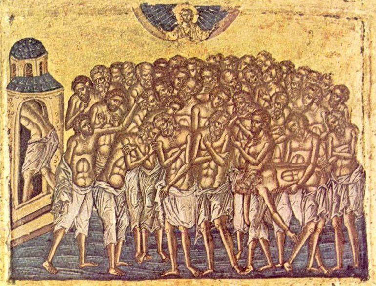 Sărbătoare 9 martie. Cine au cei 40 de Mucenici și semnificația acestei sărbători