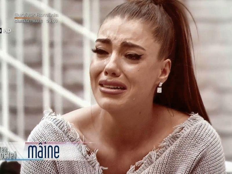 Roxana, în lacrimi! Scandalurile cu Turcu continuă