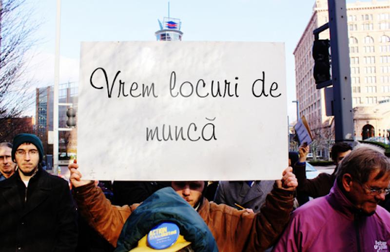 300.000 de șomeri și o sută de mii de locuri de muncă închise în România