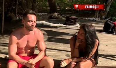 """Elena Ionescu & Sonny Flame - idilă tot mai clară la Survivor România? """"Sunt înnebunită după..."""""""