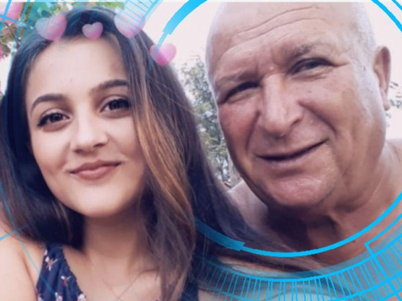 Bunicul Luizei Melencu a ajuns de nerecunoscut