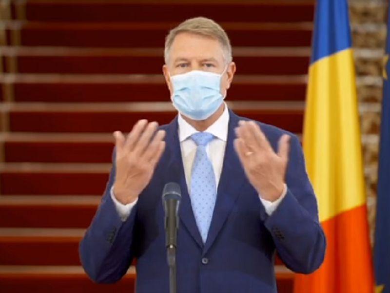 Iohannis: Din 15 mai, ieșim din case fără declarație