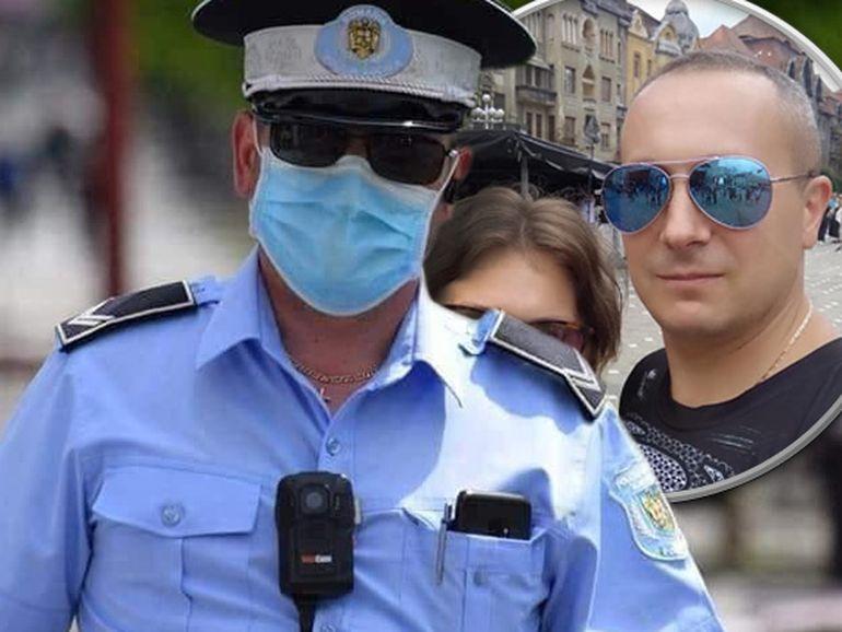 Polițistul care a fost concediat după ce și-a acuzat șefii că îl presează să dea amenzi e dator vândut! Kovacs Valer depinde acum doar de salariul mic al soției sale, care e cameristă la un hotel!