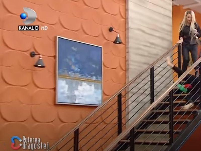 Daiana de la Puterea Dragostei a căzut de pe scări