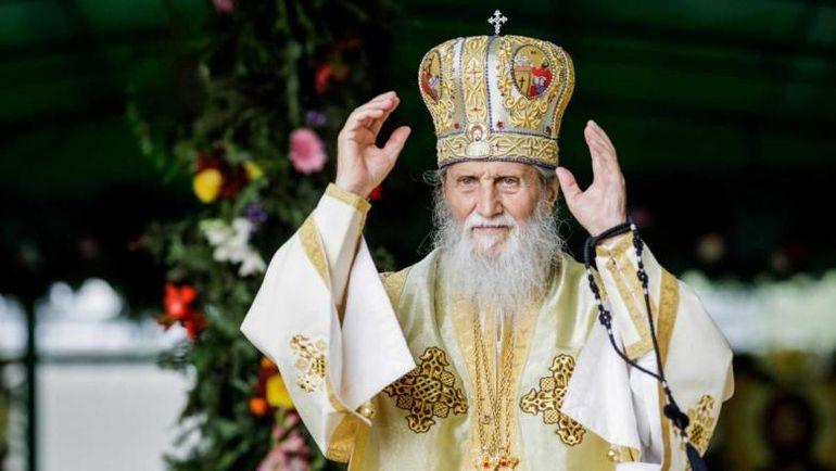 Slujba de înmormântare a ÎPS Pimen, transmisă live. Arhiepiscopul Sucevei și Rădăuților este condus pe ultimul drum