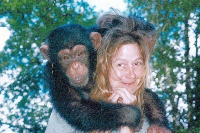 A adoptat un cimpanzeu, iar după ce i-a murit unicul fiu l-a crescut ca pe propriul copil. Într-o zi ceva îngrozitor s-a întâmplat. Femeia a rămas mutilată pe viață. Ce-a putut să-i facă maimuța