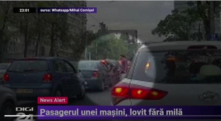 Iubitul Margheritei, bătut in trafic! Agresorii au intrat peste el in mașină! Imagini șocante