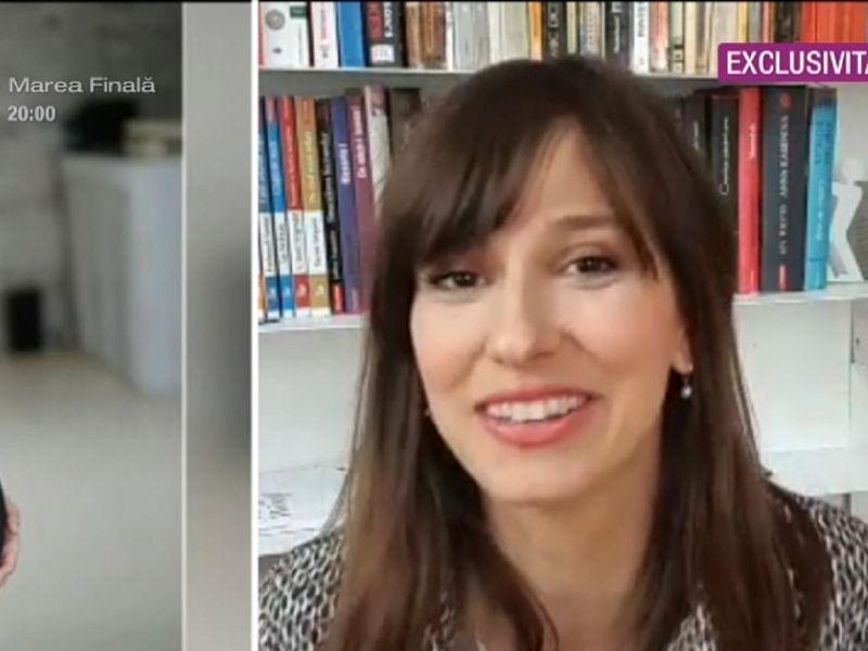 Dana Rogoz, prima apariție tv după ce a născut o fetiță