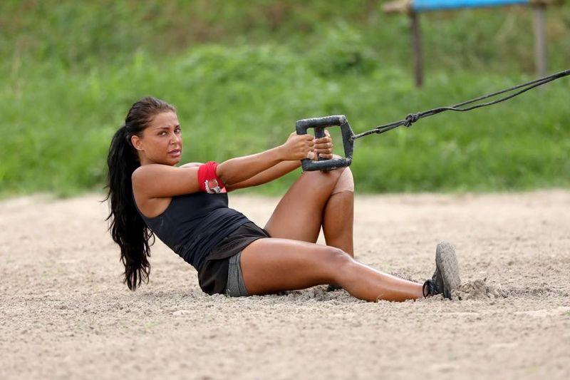Elena Ionescu la Survivor Romania