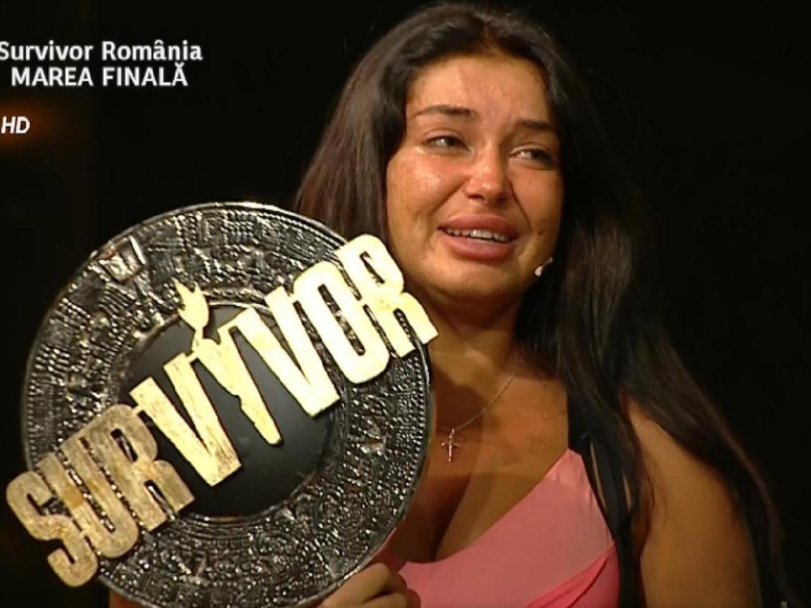 Elena Ionescu, prima reacție după ce a câștigat Survivor Romania 2020