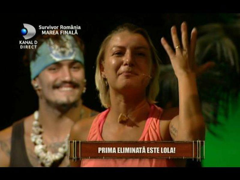 Lola Crudu, gest incredibil, in direct, dupa ce a pierdut Finala Survivor Romania