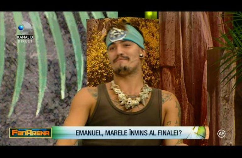 Emanuel de la Survivor a facut anuntul, in direct, la FanArena. Decizia neasteptata după ce a pierdut Marea Finala
