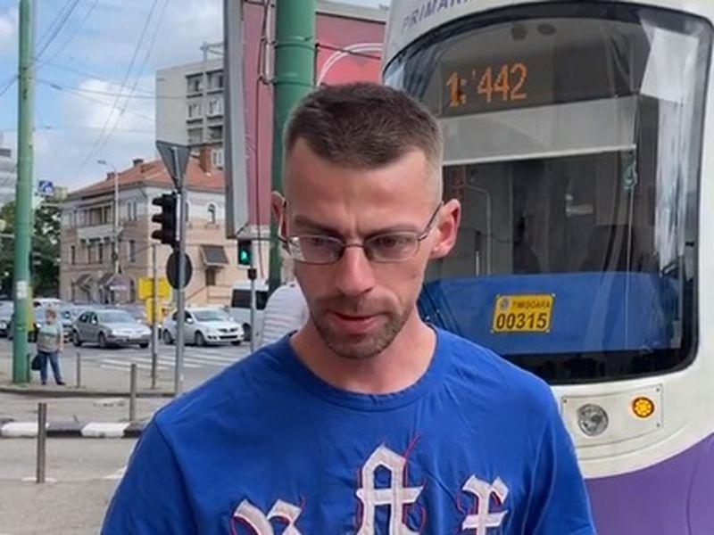 VIDEO | Un tramvai a deraiat de pe șine în Timișoara