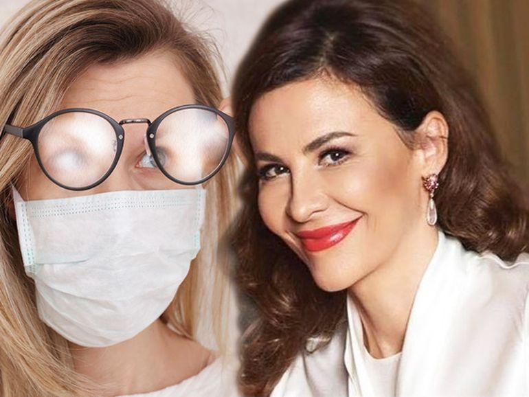 Cum să porți corect masca de protecție dacă ai ochelari! Demonstrație video făcută de dr Adina Alberts