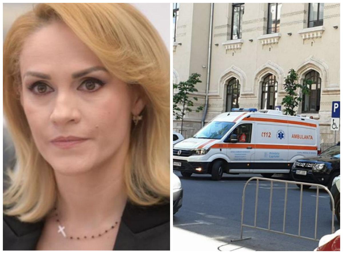 ULTIMĂ ORĂ! Gabriela Firea, de urgență la spital! Salvarea a ajuns la Primărie în urmă cu puțin timp