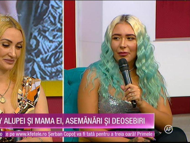 Emy Alupei, prima apariție televizată alături de mama ei. La ce vârstă a dus faimoasa un băiat acasă?