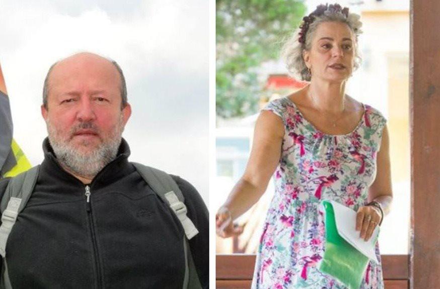 Maia Morgenstern și fostul soț, în tandrețuri, pe plajă, la 20 de ani de la divorț