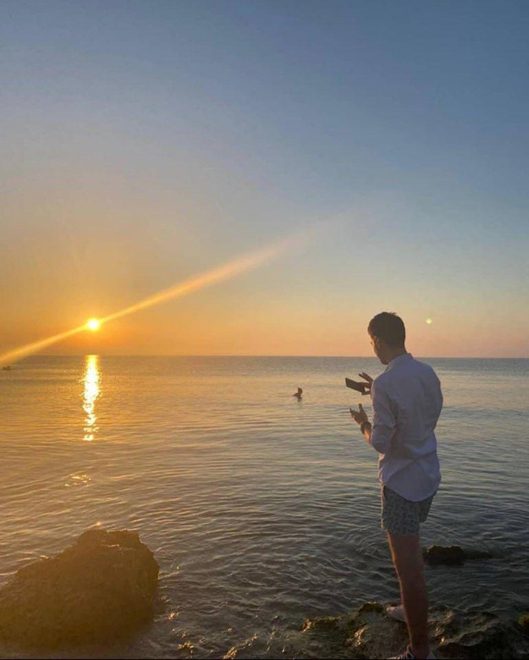 Tiberiu Argint a postat primele fotografii din vacanța cu Andreea Bălan. Acum totul e clar