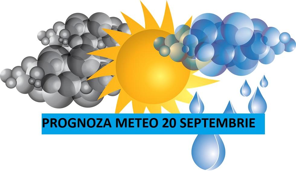 Prognoza meteo ANM pentru duminică, 20 septembrie. Temperaturi în scădere în toate regiunile țării
