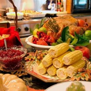 Cum arată meniul complet al unei familii din SUA de Ziua Recunoștinței. Ce pun, de fapt, aceștia pe masă