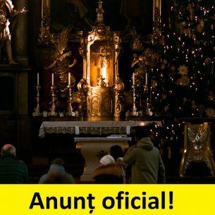 E oficial! Ce se întâmplă cu slujbele de Crăciun și de Anul Nou din acest an?