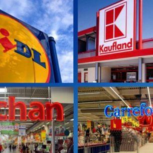 Ce program vor avea supermarketurile Auchan, Carrefour sau LIDL in timpul sarbatorilor de iarna