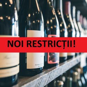 Vânzarea de alcool, interzisă până pe 15 ianuarie și circulația pe timpul nopţii, interzisă între orele 21 și 6 dimineaţa. Unde se aplică măsurile?