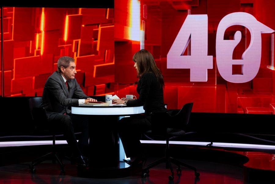 """Live Stream Online """"40 de întrebări cu Denise Rifai"""" - Ediţia de marti, 26 ianuarie 2021 - VIDEO. Denise Rifai, fata in fata cu Petre Roman!"""