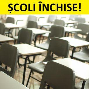 Ce școli se închid? Anunțul făcut de ministrul Educației!