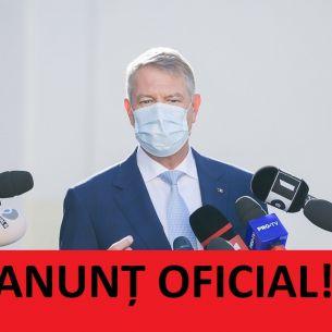 """Klaus Iohannis, anunț oficial despre pandemia de coronavirus în România: """"Avem speranța ca până în vară să..."""""""