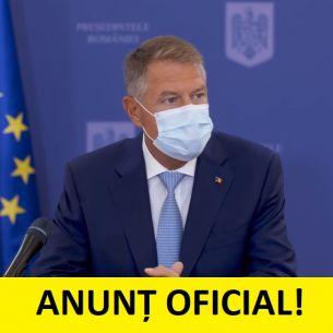 """Klaus Iohannis, anunț oficial:  """"Circulația pe timp de noapte va fi restricționată mai devreme!"""" Vom avea un nou lockdown de Paște?"""