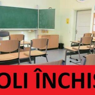 Școli închise! Decizia luată de Comitetul Județean pentru Situații de Urgență. Elevii nu mai merg la cursuri începând de astăzi!