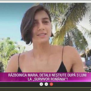 Cum a ajuns Maria Hingu, una din cele mai bune concurente de la Survivor Romania 2021 sa fie eliminata? Fosta Razboinica da cartile pe fata si spune adevarul