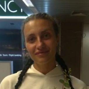 Ana Porgras a ajuns in Romania! Primele declaratii de la aeroport: