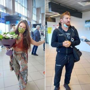 Mellina si Morosanu au ajuns in Romania! Primele declaratii de la aeroport! Iata cum au fost intampinati!