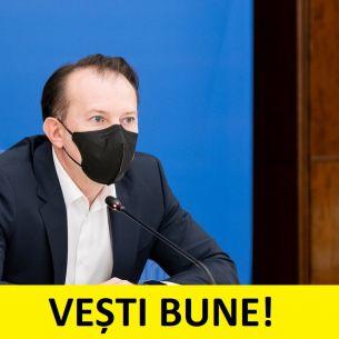 """Florin Cîțu, cea mai bună veste pentru români: """"Valul 3 a dispărut!"""" Ce se va întâmpla de la 1 iunie, 1 iulie și 1 august?"""