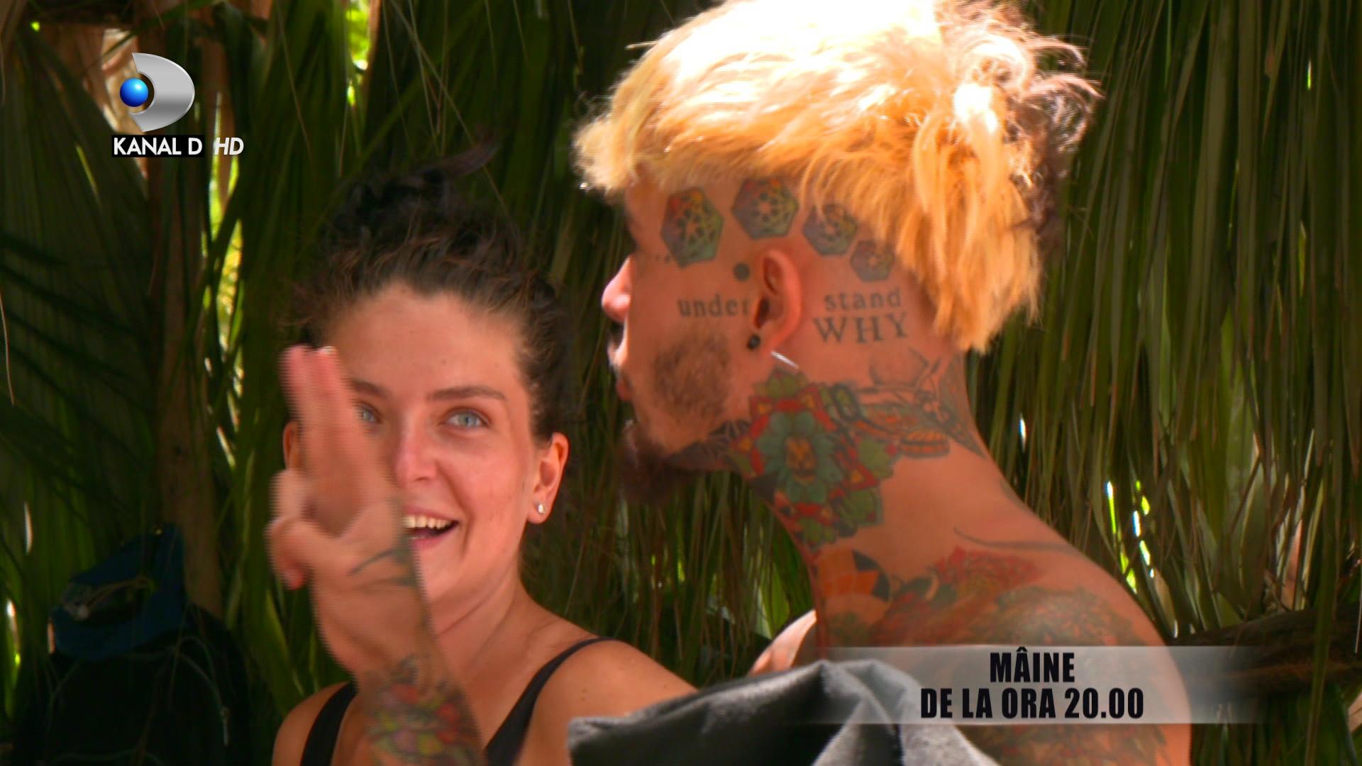 Survivor Romania 2021. Apropieri suspecte intre Zanni si Adelina Damian. Ce va zice Ana Porgras cand va vedea imaginile?