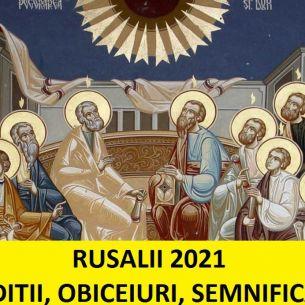 Află: Ce tradiții și obiceiuri respectă credincioșii de Rusalii 2021