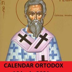 Sarbatoare mare miercuri, 16 iunie 2021. Crestinii ortodocsi praznuiesc un Sfant important! Iata ce rugaciune pentru sanatate se rosteste in aceasta zi!