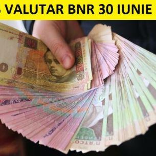 UPDATE: Curs valutar BNR miercuri, 30 iunie 2021. Care sunt cotatiile pentru principalele monede!