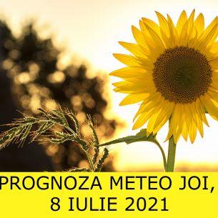 // PROGNOZA METEO ANM joi, 8 iulie 2021 // Caniculă și ploi! Ce temperaturi vor fi