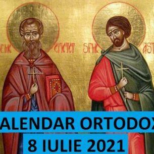 Sarbatoare marcata cu cruce neagra, joi, 8 iulie 2021. Crestinii ortodocsi praznuiesc doi mari Sfinti facatori de minuni! Rugaciunea ce poate fi spusa pentru sanatate!