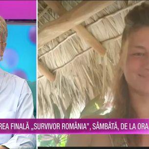 Elena Marin, declaratii după eliminarea de la Survivor!  Ce a mărturisit la Teo Show: ''Am vorbit cu iubitul meu....''